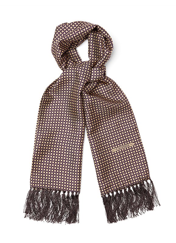 afea0831f scarfs | Mens Luxury Scarves | Cashmere Scarf & Silk Scarves for Men |  Crombie