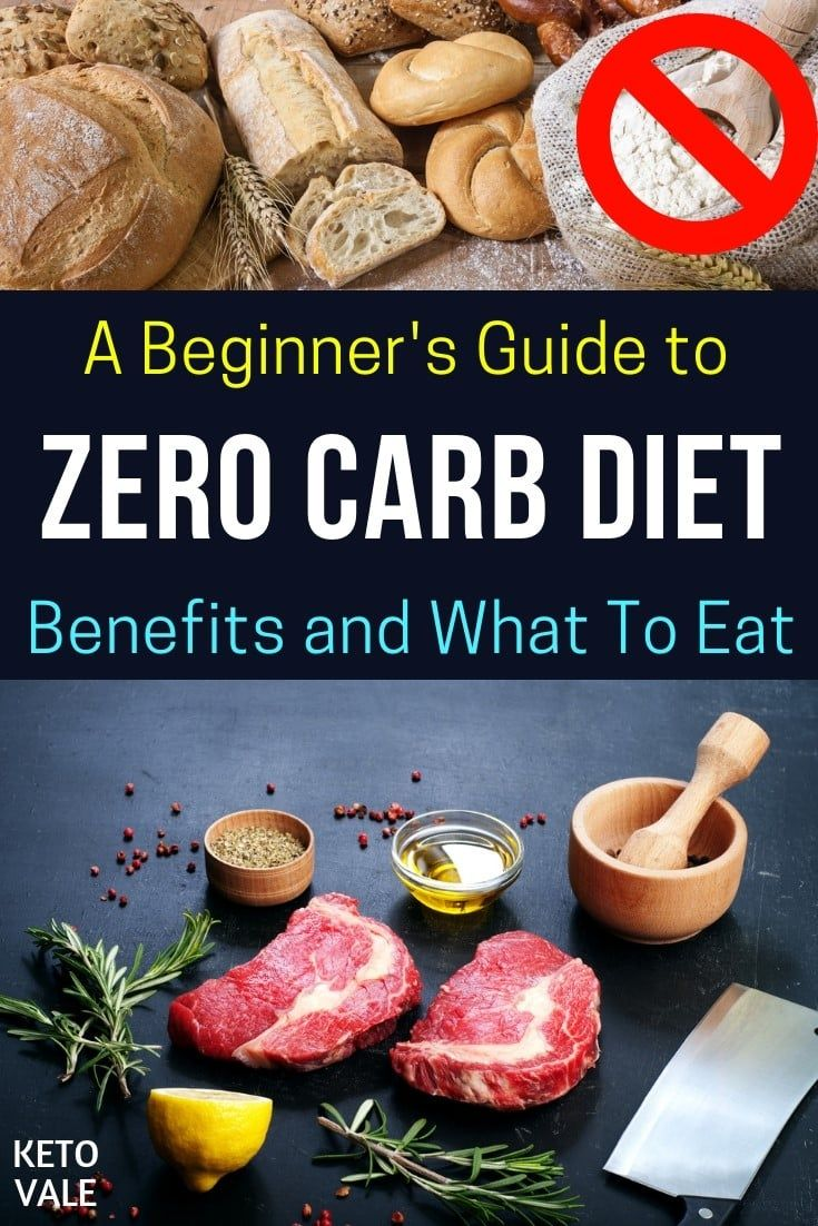 The Zero Carb Diet Does It Really Work? Zero carb diet