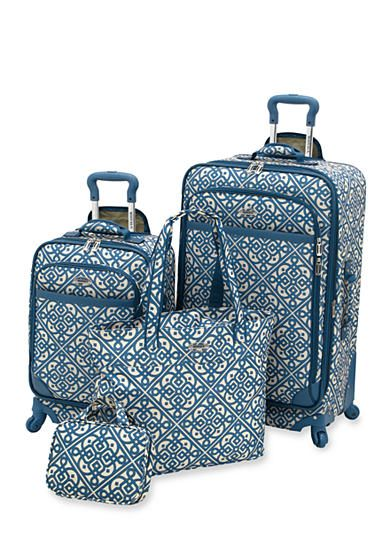 New Directions® 5-Piece Purple Vine Luggage Set | Vines, Purple ...