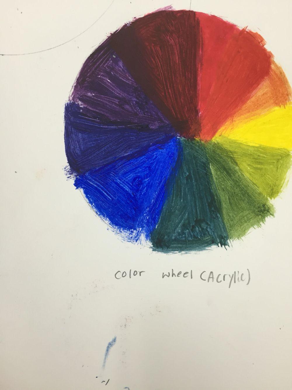 Co color wheel art - Color Wheel
