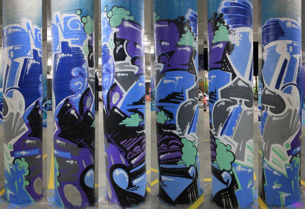 Askem Bailer Blends Dvate H20e Jorz Ling Logik Peps Presto Prix Putos Sabeth Scale Silk Skary Sofles Graffiti Rose Street Car Park Fitzroy Melbourne Arty Graffarti42