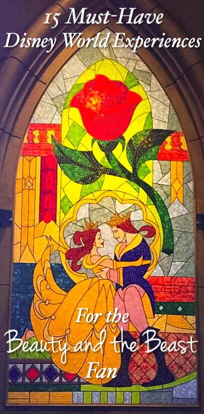 If you have a Beauty and the Beast fan in your house, you'll want to see this list of 15 Beauty and the Beast experiences to have in Disney World!