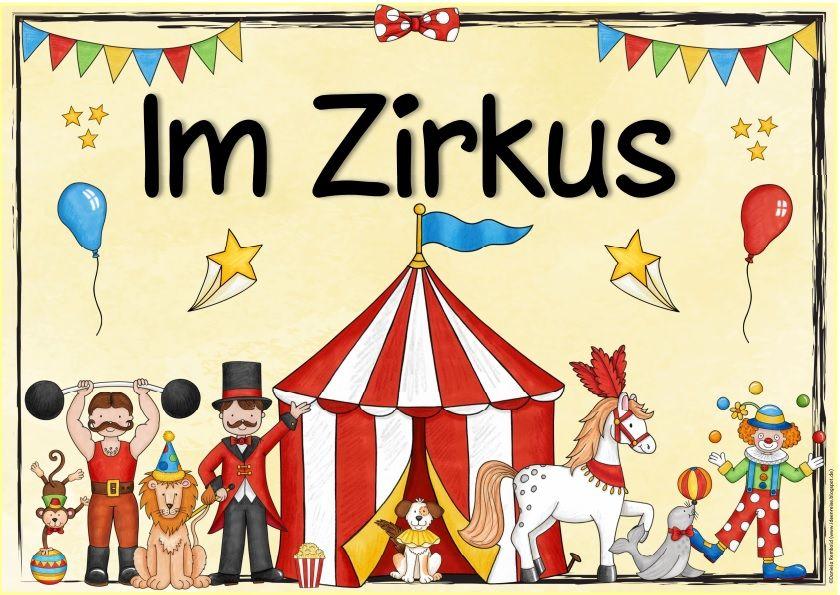 Themenplakat Im Zirkus Heute Gibt Es Ein Neues Themenplakat