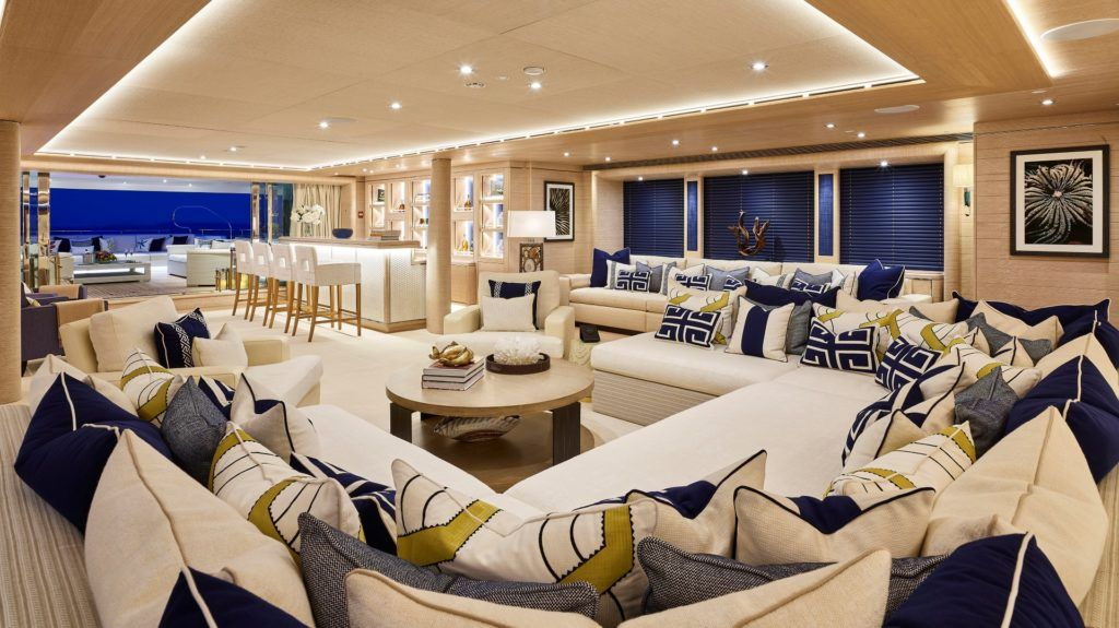 Top 5 Luxury Yacht Interiors By Winch Design With Images Yacht