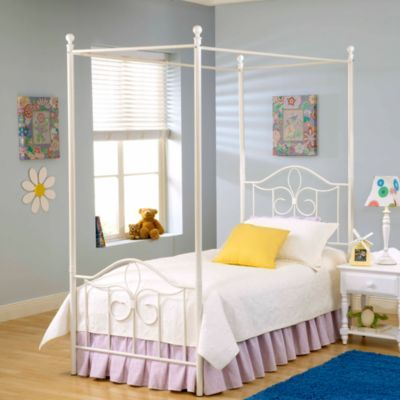 Buy Hillsdale Furniture Westfield Canopy Metal Bed Set With Canopy