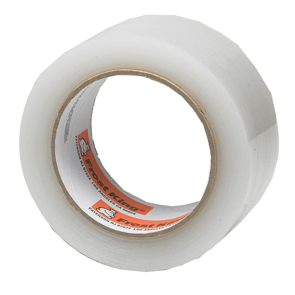 Frost King E O 2 In X 100 Ft Interior Exterior Clear Plastic Weather Seal Tape T96h The Home Depot Weather Seal Window Insulation Kit Window Insulation