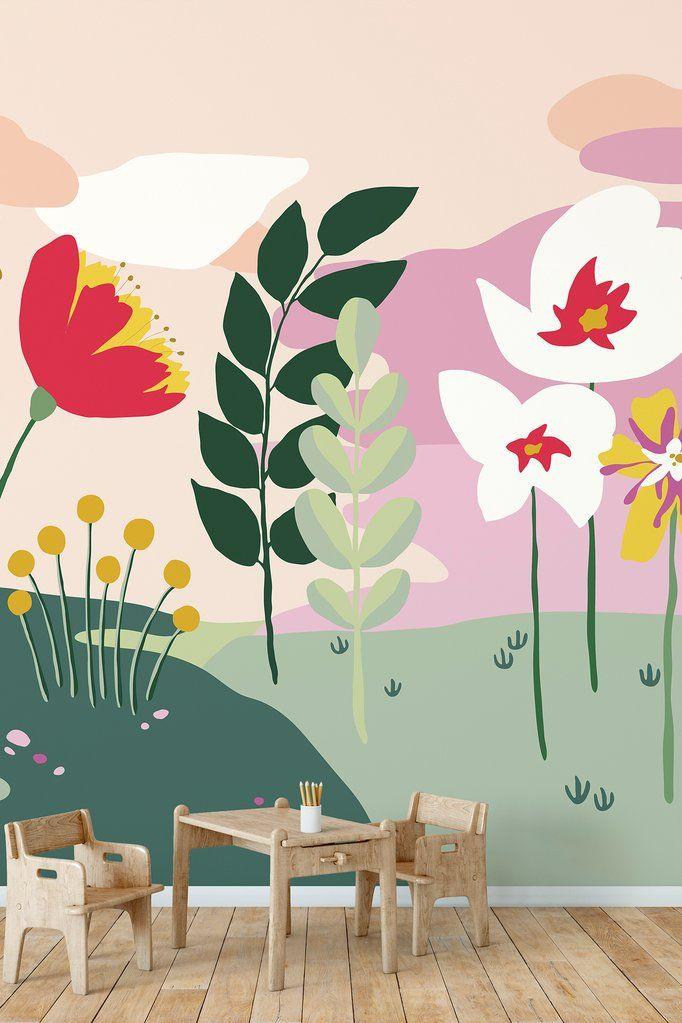Best Summer Clouds Removable Wallpaper Mural Kids Room Murals 400 x 300