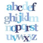 Found it at AllModern - Imagination - Letter Layers Stretched Wall Art
