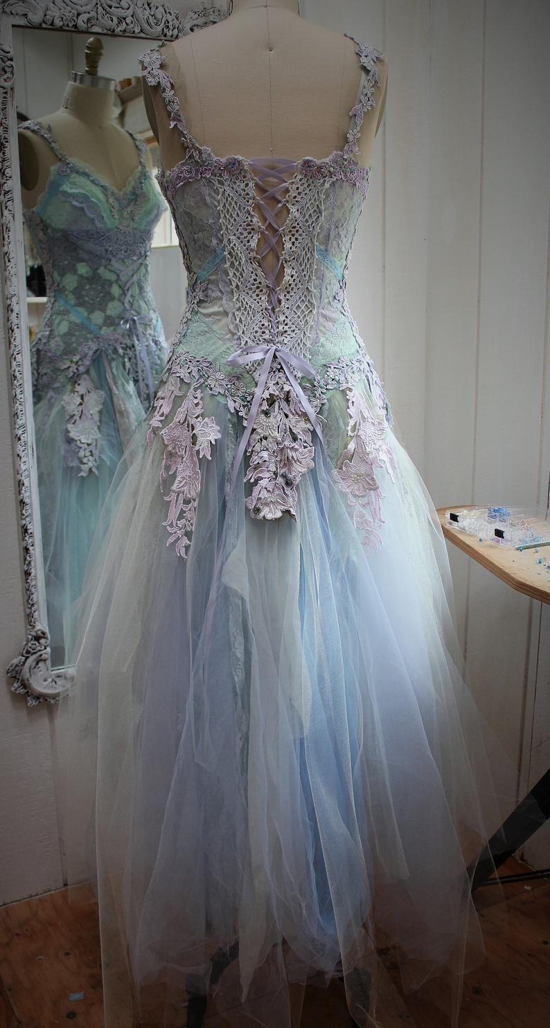 Deposit for alina bespoke custom fantasy wedding dress
