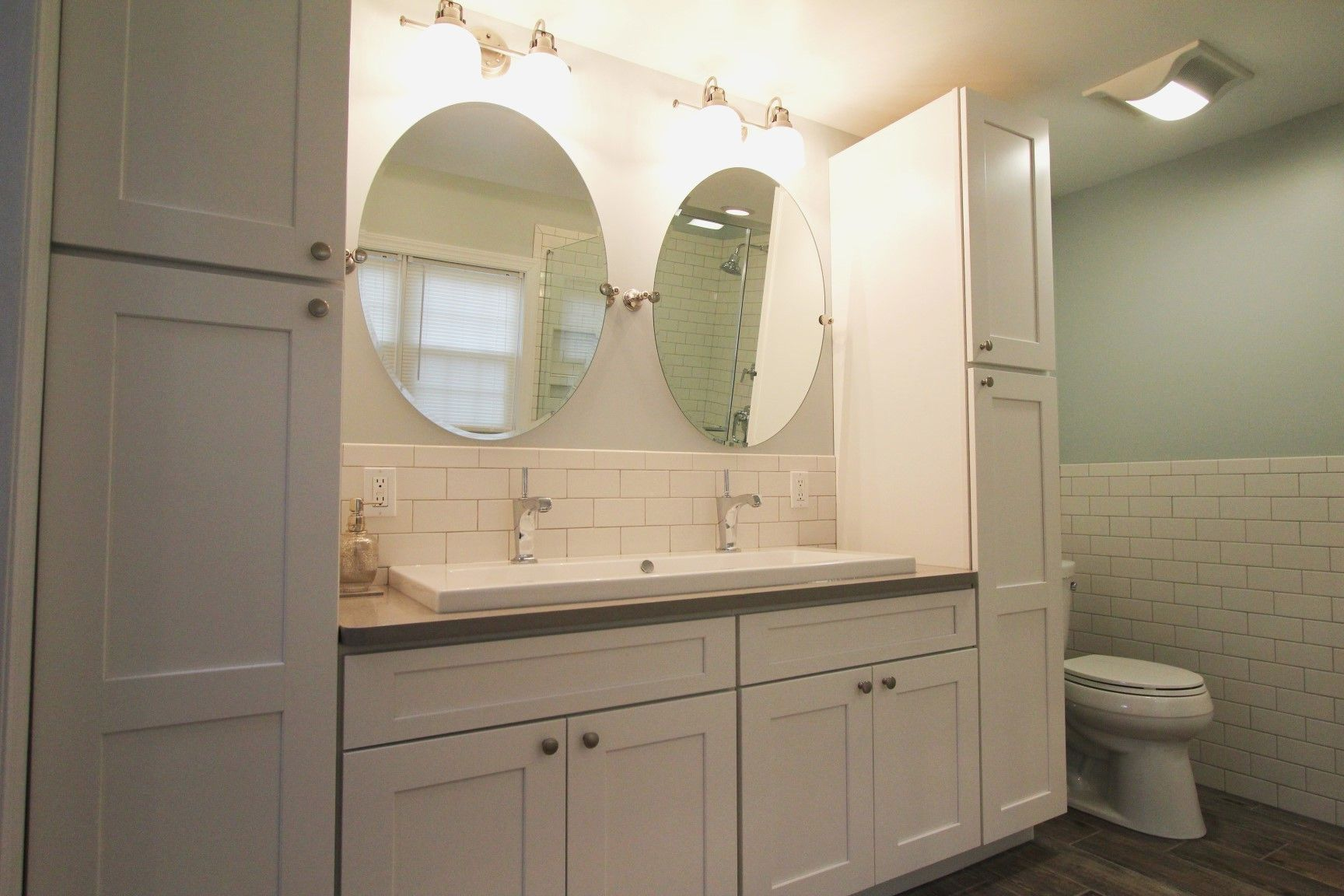 Bathroom Vanity with Linen Cabinet New Linen Closet In ...