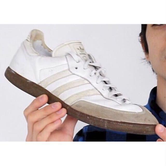 Rare Adidas Samba Men's model | White