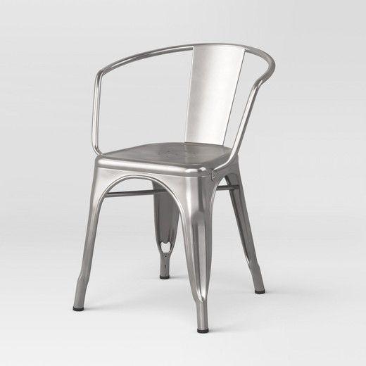 carlisle metal dining chair threshold target kursi cafe