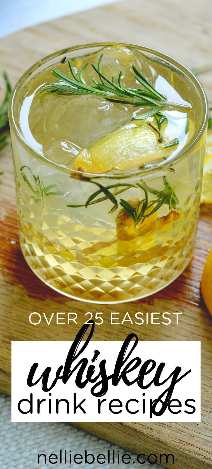 Photo of Over 30 Best Whiskey Drinks   Whiskey Cocktails You Should Try!