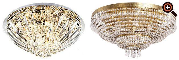 Lampe Wohnzimmer – moderne Beleuchtung mit LED – Deckenleuchten ...