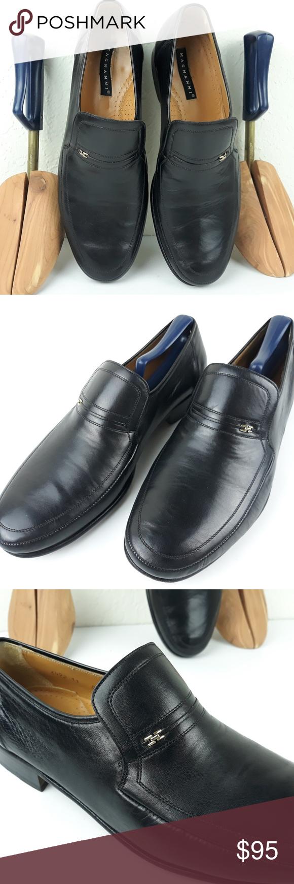 Magnanni Dorio Dress Loafers Black 11d Made Spain Dress Loafers Dress Shoes Men Loafers Black [ 1740 x 580 Pixel ]