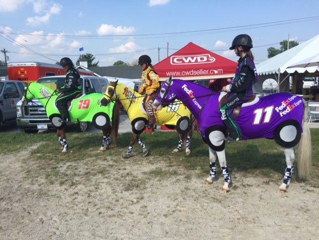 Horse Costumes Race Car 2