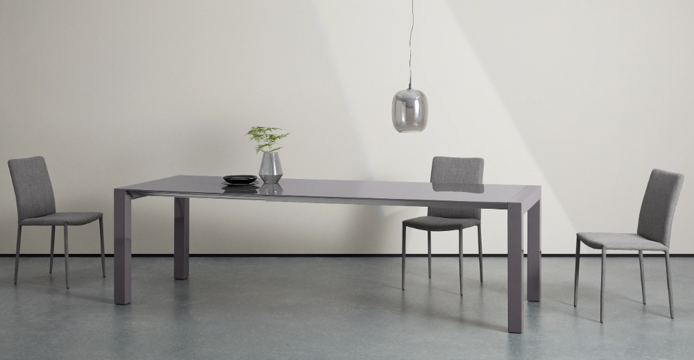 Bramante 6 12 Seat Extending Dining Table Grey Made Com Dining Table Table Extendable Dining Table