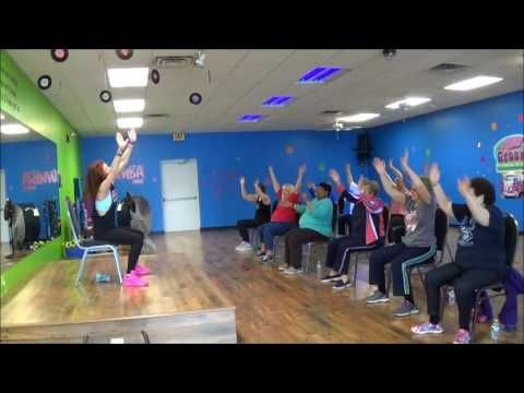 Latin Zumba Inspired Chair Exercise Fitness Workout 1 Multiple Sclerosis Ms Video 5 Youtube Flexibility Workout Senior Fitness Exercise