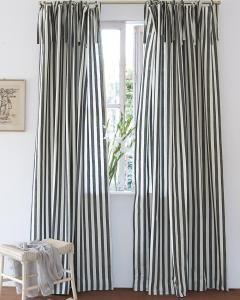 streifenvorhang schwarz wei curtains pinterest vorh nge blickdichte vorh nge und. Black Bedroom Furniture Sets. Home Design Ideas