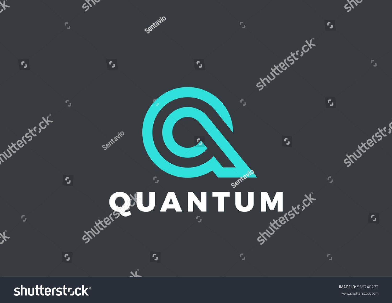 Stock vector letter q logo luxury design vector template linear stock vector letter q logo luxury design vector buycottarizona