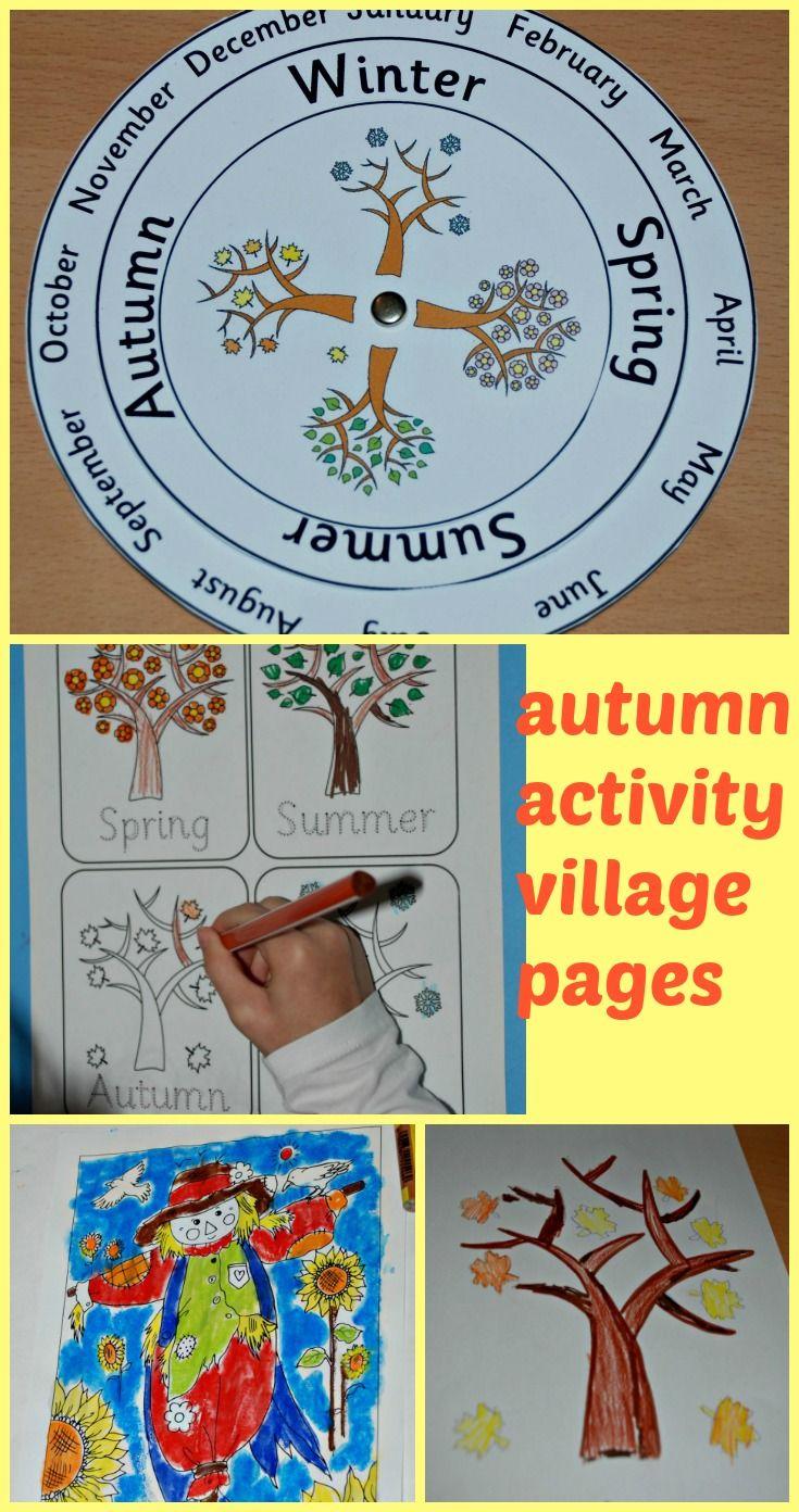 Wordpress Com Activity Village Activities Autumn Activities