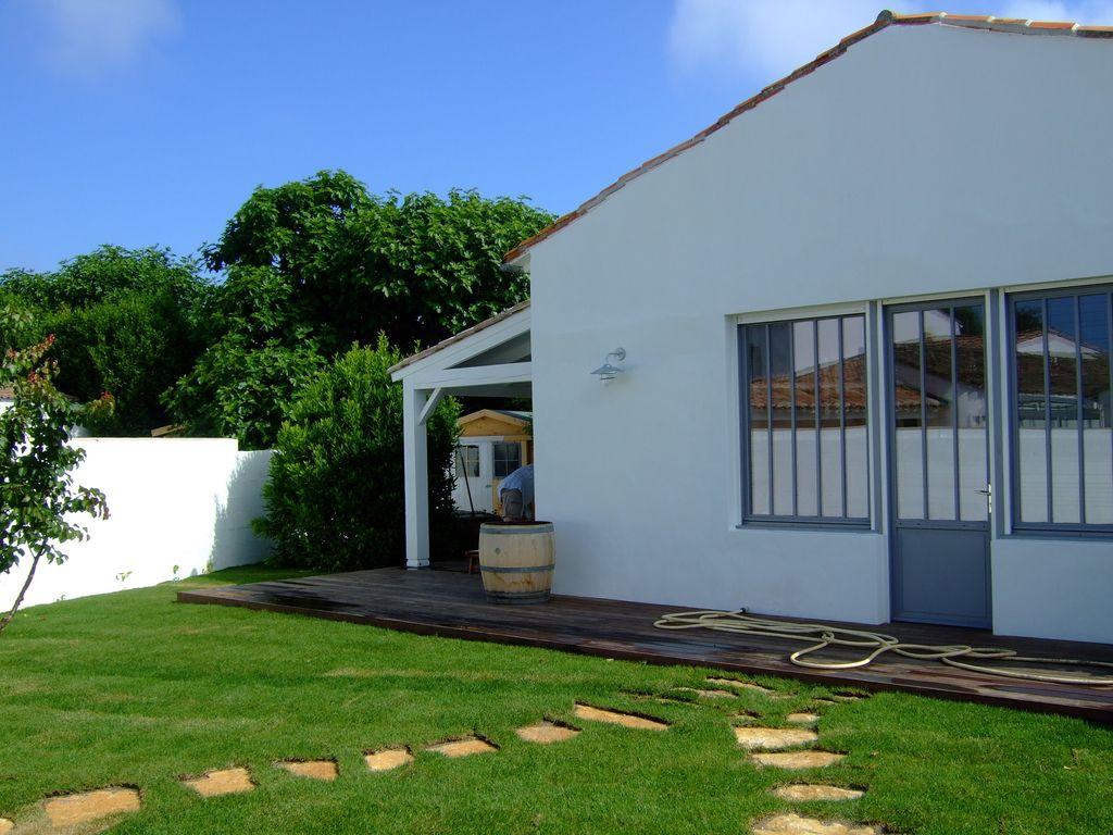 Bois Plage Maison Traditionnelle Avec Beaucoup De Charme Dans Un  ~ Location Maison Bois Plage En Ré