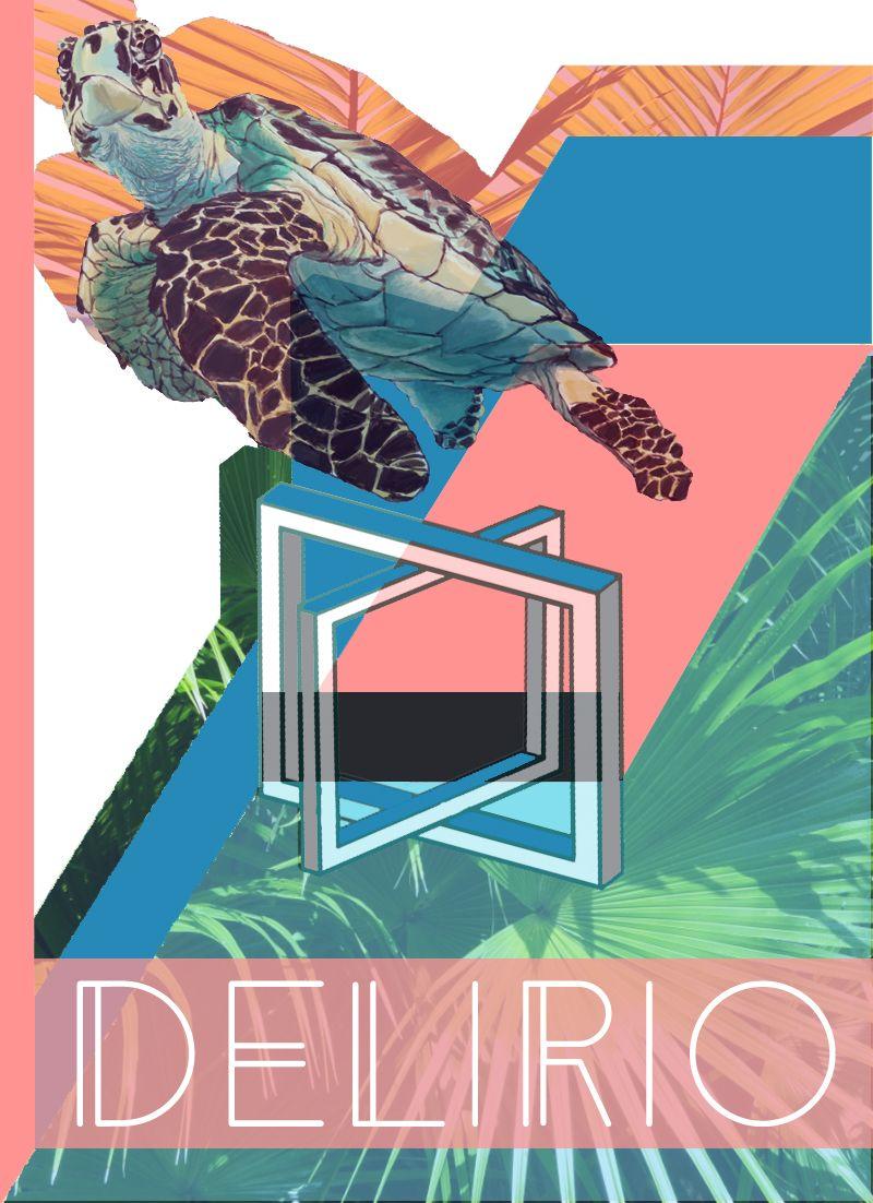 Delirio.Fanzine#2. By JogoDesign. Jose Gomez. 2016