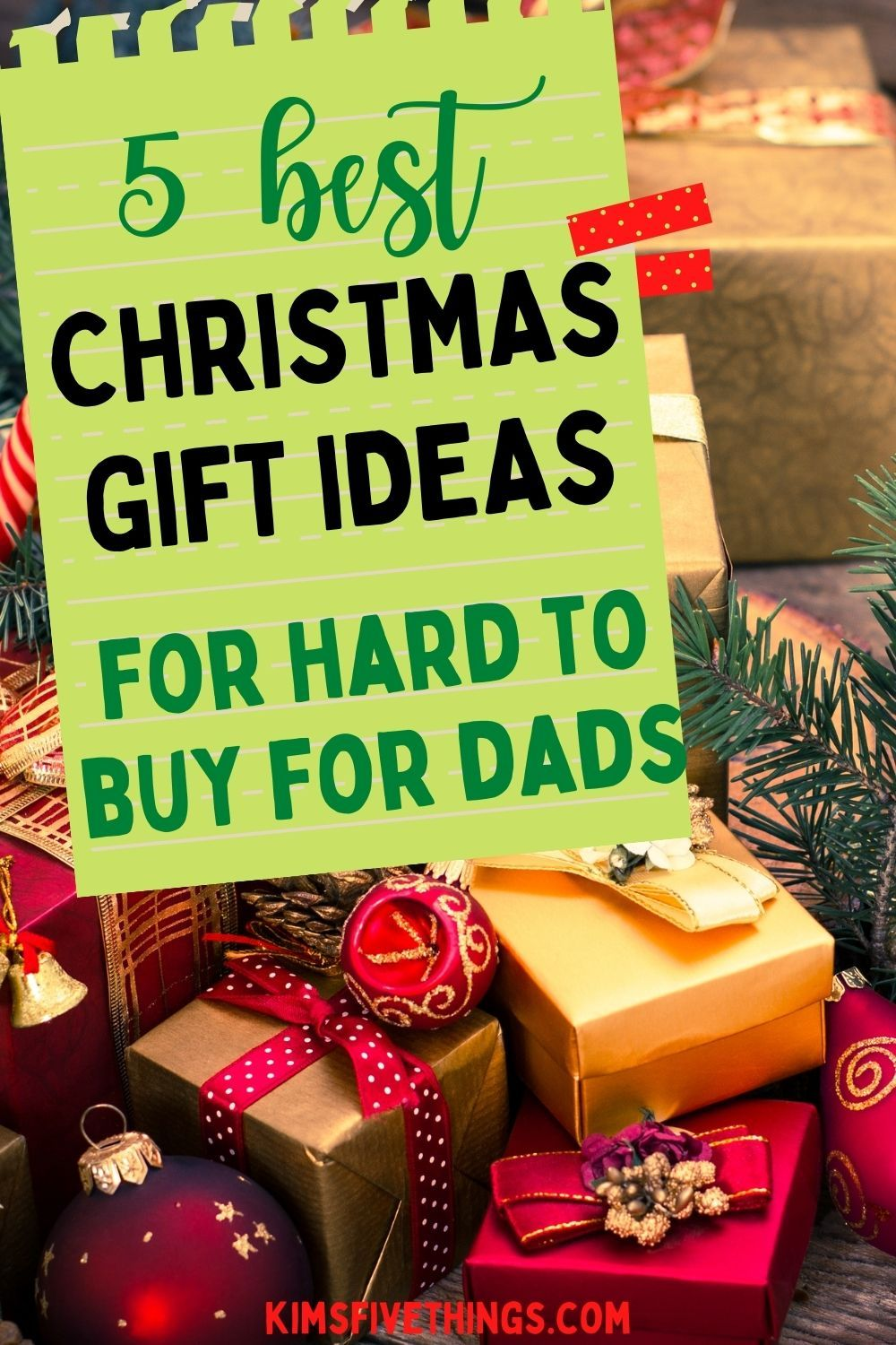 Top 5 Christmas Gifts For Your Dad Meaningful Gifts For Dad Kims Home Ideas In 2020 Top 5 Christmas Gifts Christmas Gifts Christmas Gift For Dad