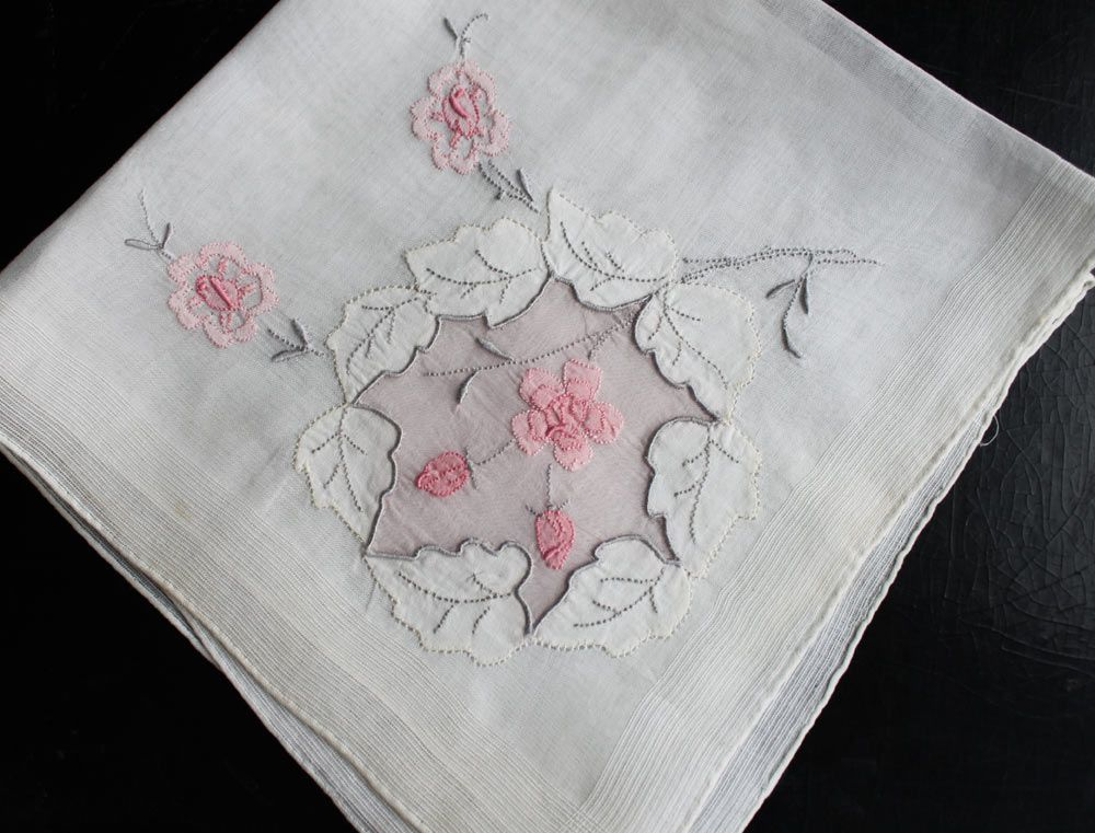 Hand Embroidered Hankies