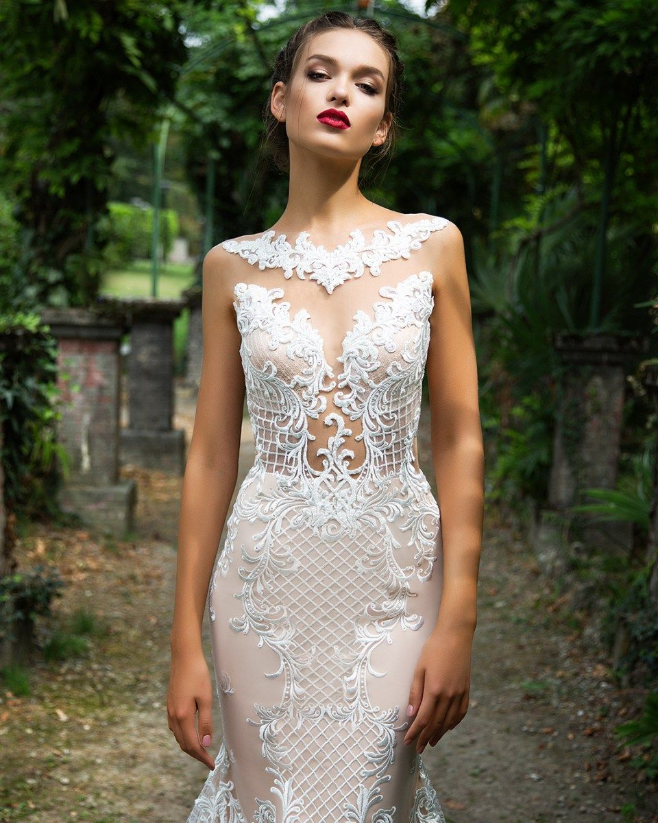 Milla nova salma white desire kiss the bride pinterest