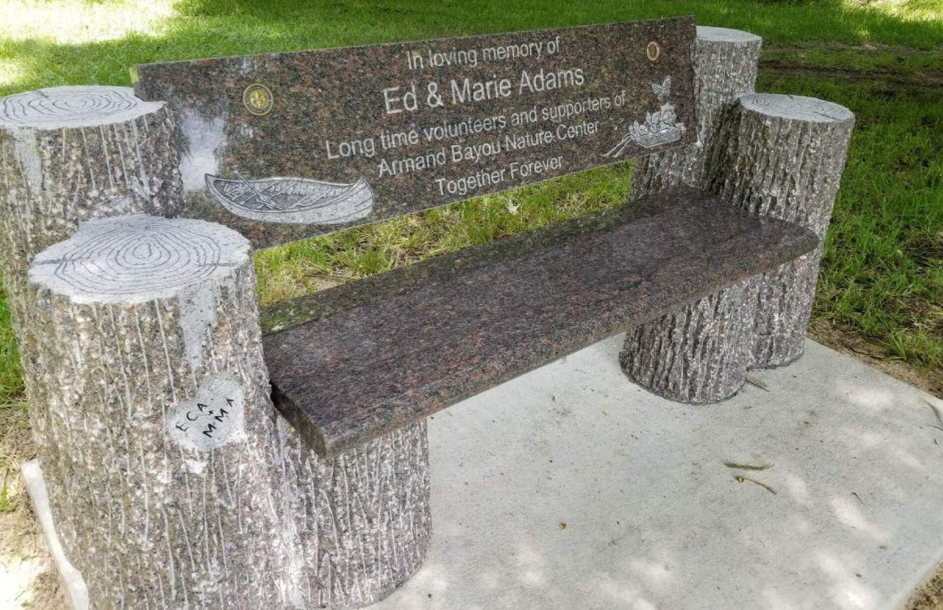 Brilliant Memorials In 2019 Granite Cemetery Bench Ibusinesslaw Wood Chair Design Ideas Ibusinesslaworg