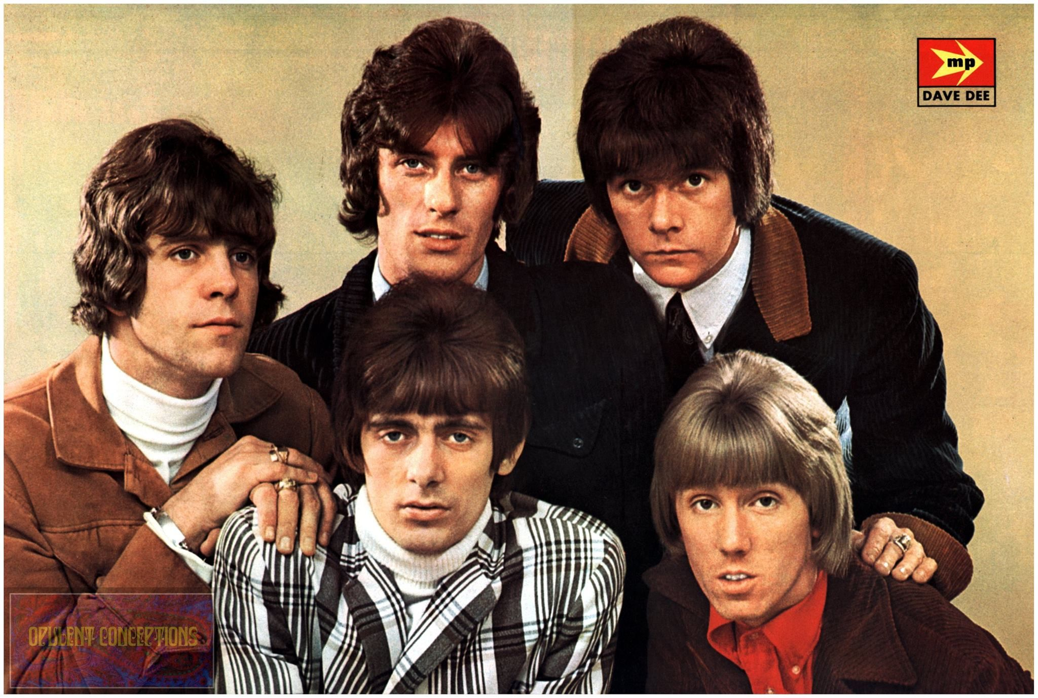 Dave Dee, Dozy, Beaky, Mick and Tich   One hit wonder, Pop singers,  Hollywood