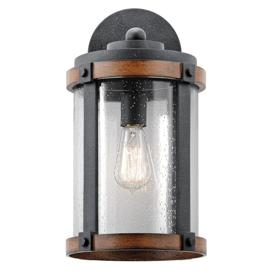 Kichler Lighting Barrington 16 In H Distressed Black