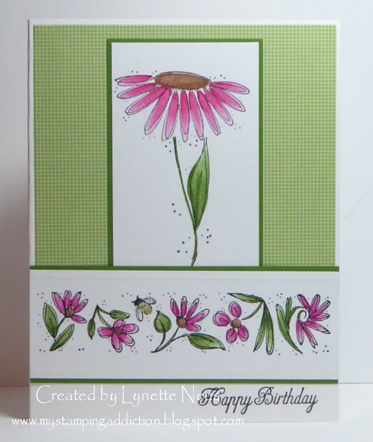 A Card For My Friend Georgia A Member Of Our Yahoo Stamping