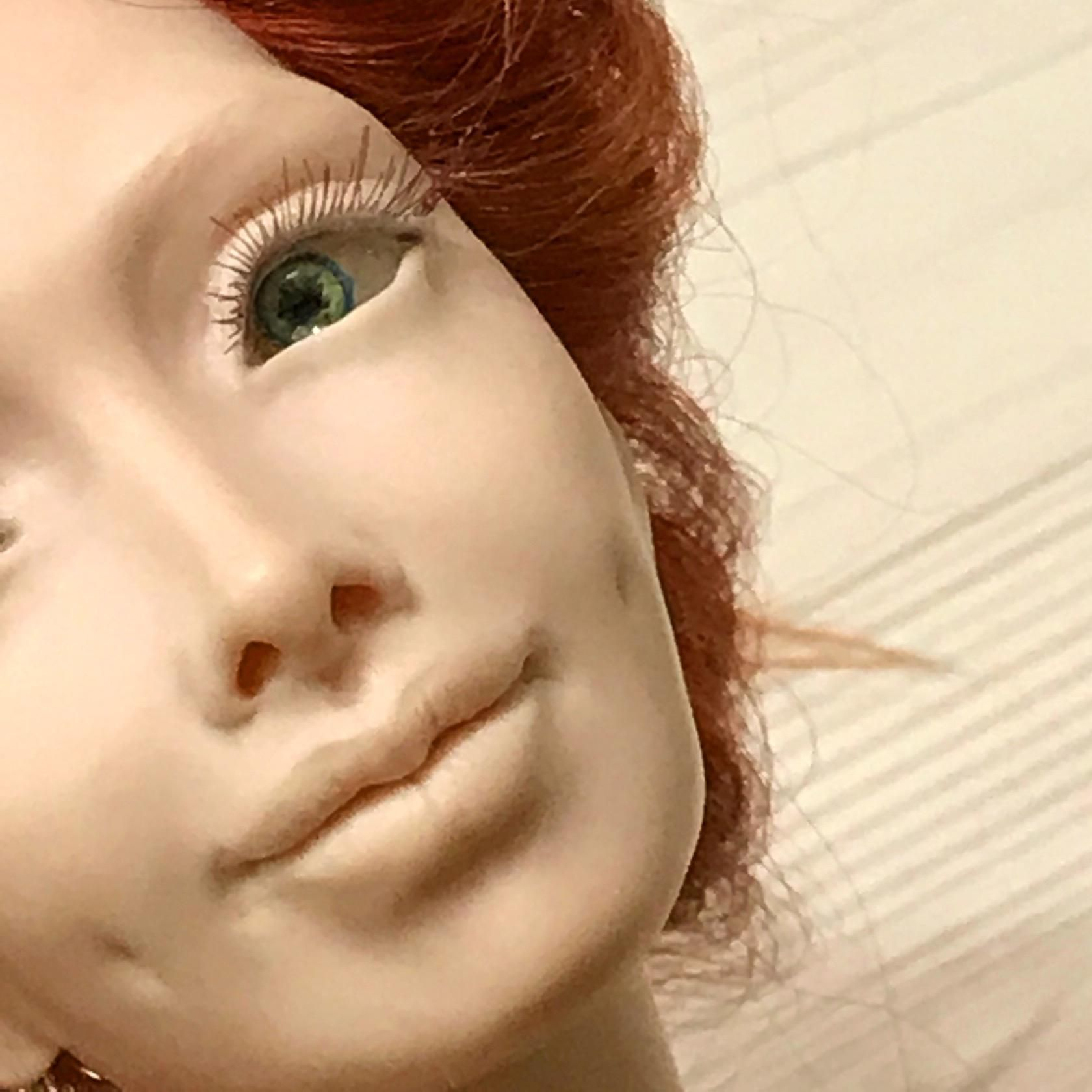 куклы из полимерной глины картинки фиалки