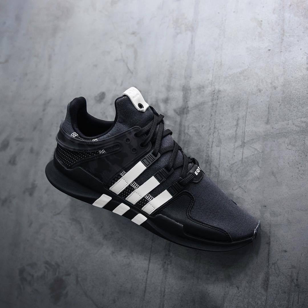 pretty nice 4f986 6bb4b Adidas Consortium x Undefeated EQT Support ADV Black / Cream ...