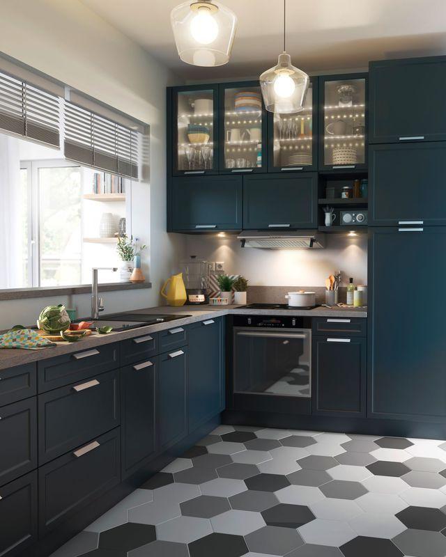 sol cuisine carrelage parquet et rev tement d co kitchen. Black Bedroom Furniture Sets. Home Design Ideas