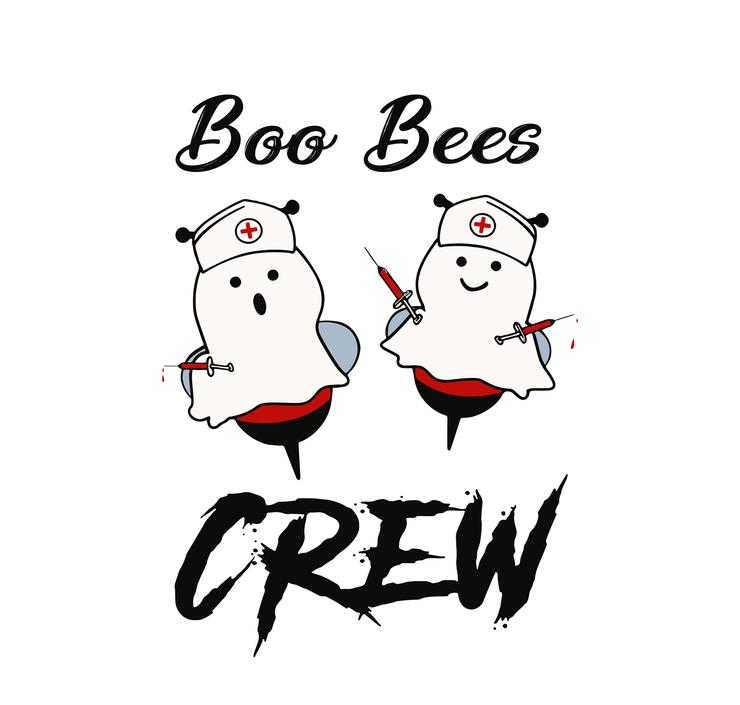 Boo boo crew, boo boo crew svg, halloween svg,Boo bees svg