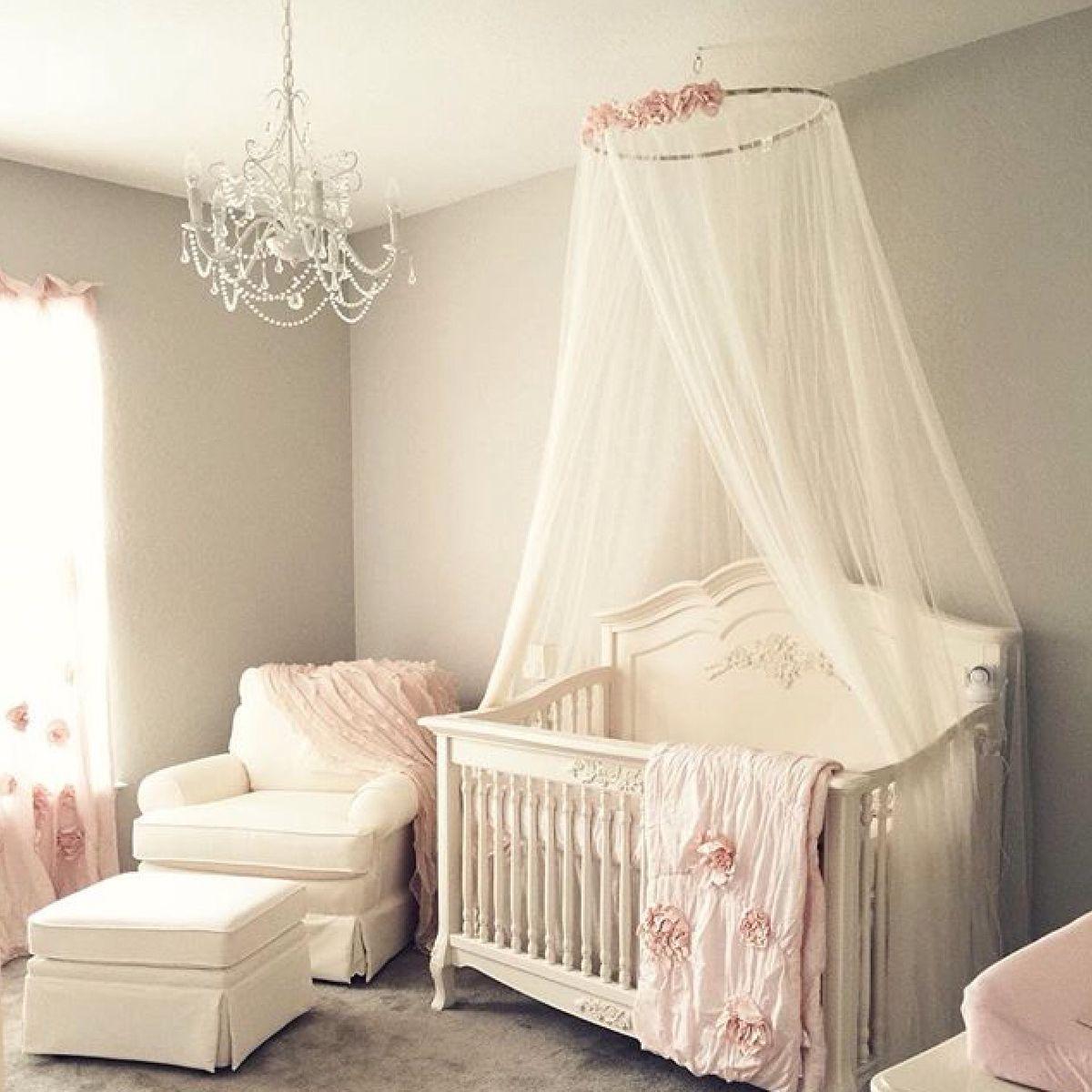 Blush Nursery With Neutral Textures: Girl Nursery, Blush Nursery, Baby Bedroom
