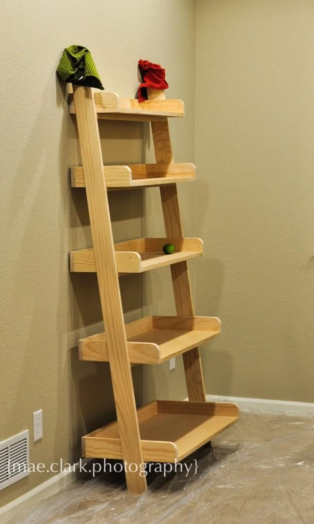 Leaning Wall Shelf Leaning Wall Shelf Easy Diy Projects