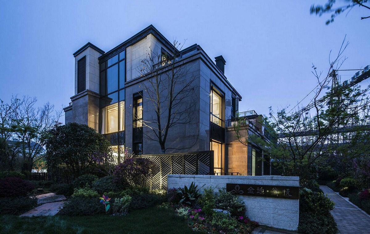 Gothic Architecture House artistic house design with japanese interior style | modern gothic