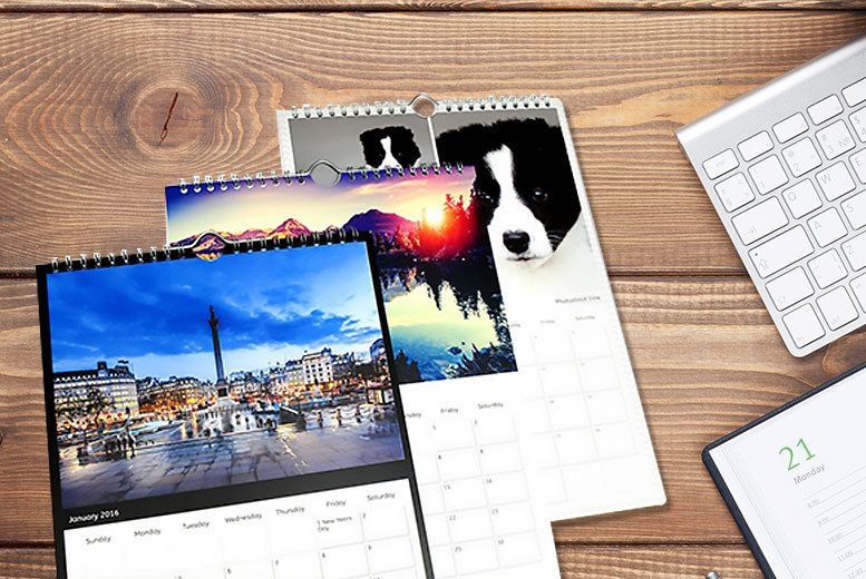 Get rid of the calendar from 2013, and revamp your planner! Personalize your A3 photo calendar, and never forget a birthday again!