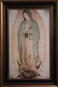 Primos Maternos Lady of Guadalupe Church Painting $295