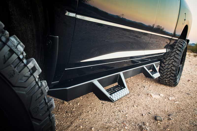 2009 2016 Dodge Ram 1500 Crew Cab 4dr Magnum Rt Step Bars Dodge Ram 1500 Accessories Dodge Ram Ram 2500 Mega Cab