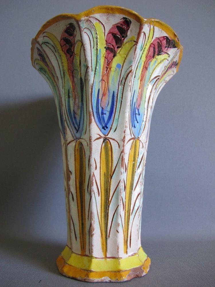 Antique Spanish Pottery Vase Vases And Urns Pinterest Pottery