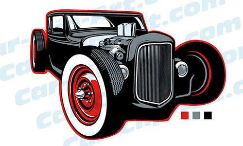 rat rod clip art rats and cars rh pinterest com hot rod clipart free download hot rod clipart drawing 1932 ford