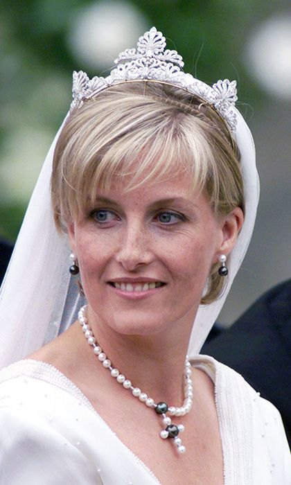 Sophie Rhys-Jones wedding tiara