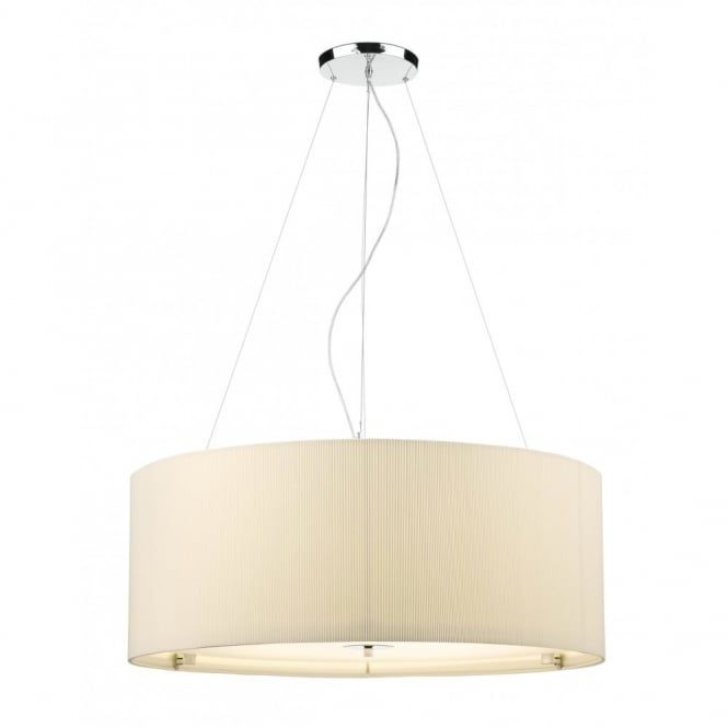 Large Cream Ceiling Pendant Shade For