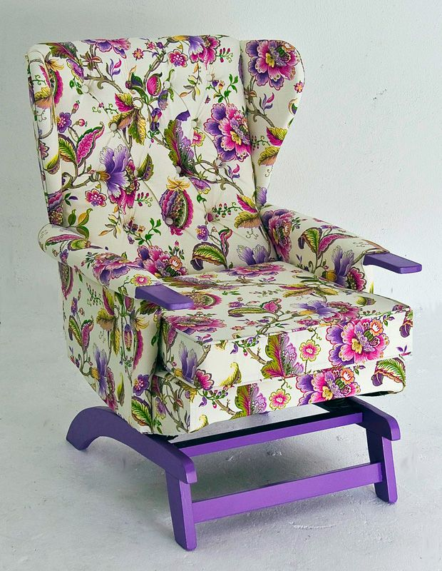 Gracie-Glider - Upcycled chair furniture | Upcycled ...