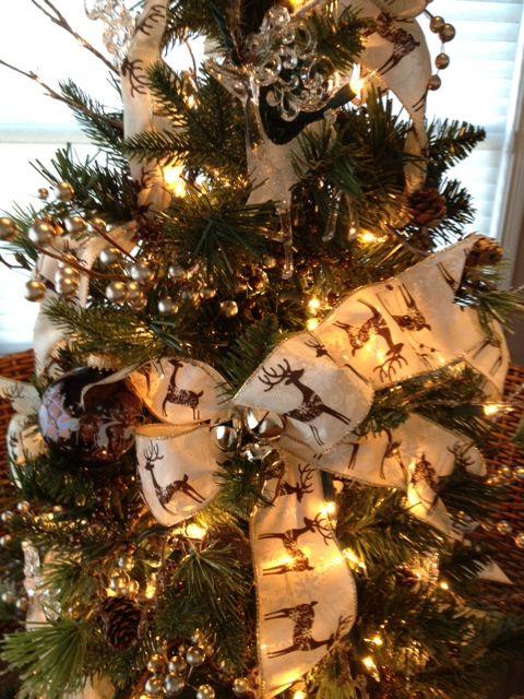 Detail Photo Of Reindeer Theme Christmas Tree Christmas Tree